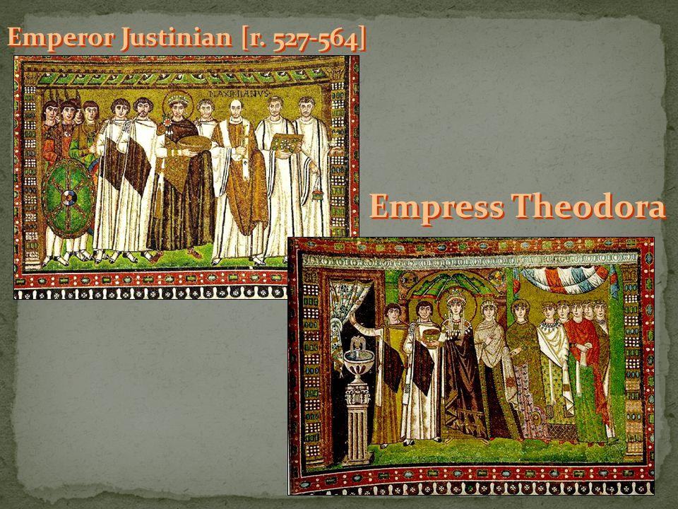 Emperor Justinian [r. 527-564]